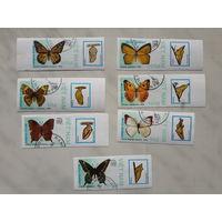 Марки Вьетнам Бабочки