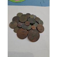 Монеты РИ. 50 монет. С рубля.