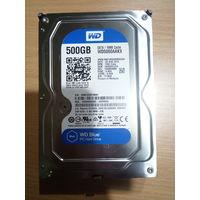 Жесткий диск (винчестер) 3.5 WD 500 GB