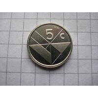 АРУБА 5 ЦЕНТОВ 1998 ГОД  UNC