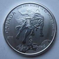 Канада, 2 доллара, 2015, серебро