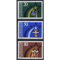 Лихтенштейн 1983 Рождество Серия 3 м. MNH