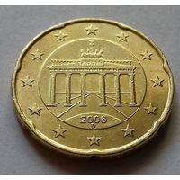 20 евроцентов, Германия 2006 D