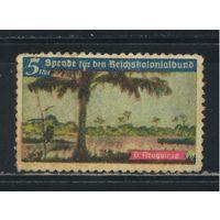 Германия Новая Гвинея 1933-43 Виньетка Пожертвование в фонд возвращения утерянных колоний