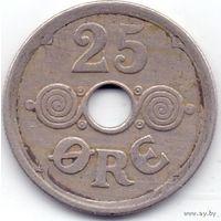 Дания 25 эре 1929 года