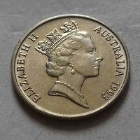 5 центов, Австралия 1993 г.