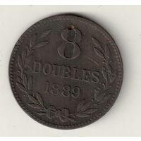 Гернси 8 дубл 1889