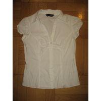 Белая блузка 44 размер