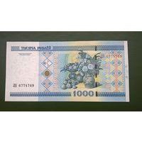 Беларусь. 1000 рублей (образца 2000 года.) [серия ЛБ]