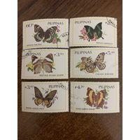 Филиппины 1984. Бабочки. Полная серия