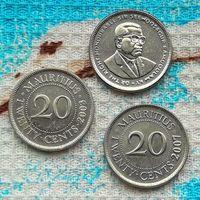 Маврикий 20 центов 2003 года. Инвестируй выгодно в монеты планеты!
