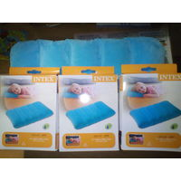 Надувная подушка Intex Fabric Camping, 43х28х9 см