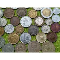 Сборный лот из 45 монет