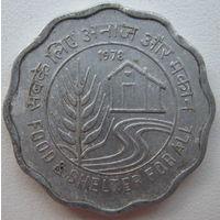Индия 10 пайс 1978 г. ФАО. Еда и кров для всех (g)