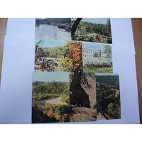 Набор открыток Рига 1974 г. 7 шт