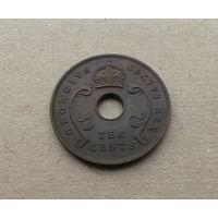 Британская Восточная Африка, 10 центов 1952 г., Георг VI (1936-1952)