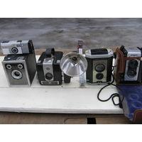Фотоаппараты 50- 60-ых годов США, 70 г- СССР
