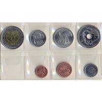 Папуа Новая Гвинея комплект монет (7 шт.) 2004-2008 гг.