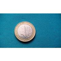 Нидерланды 1 евро 2001г.  распродажа