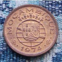 Португальская колония Мозамбик 1974 года 20 центов. Инвестируй в коллекционирование!
