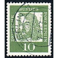 112: Германия (Западный Берлин), почтовая марка, 1961 год