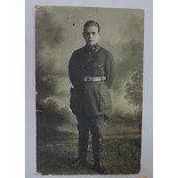 Фото офицера 1932 г. СССР. Размер 8.9-13.7 см.