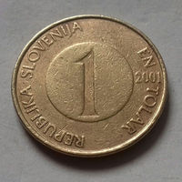 1 толар, Словения 2001 г.