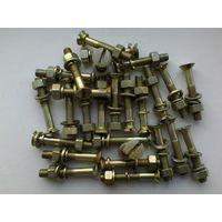 Болт с Гайкой - 31 штука - Длина 40 мм/Диаметр 6 мм - Одним лотом.
