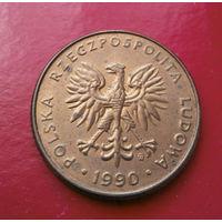 10 злотых 1990 Польша #01