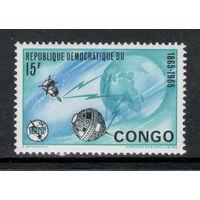 Конго /1965/ Космос / Телекоммуникации / Michel #CD 230