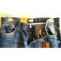 Джинсы фирмы OVS (Jeanswear 72D) Италия. Размер 34 (наш 50-52).