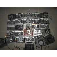 Фотоаппарат(боди,корпус)-24 шт.разные(Зенит,ФЭД,Спена и др.),одним лотом.