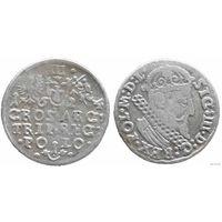 YS: Польша, 3 гроша 1624, Сигизмунд III, серебро, KM# 31