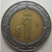 Мексика 1 песо 1996 г. (g)