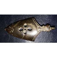 Бутероль, наконечник ножен 10-11 век