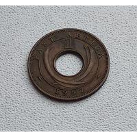 Британская Восточная Африка 1 цент, 1957 Без отметки 4-11-15