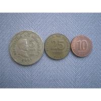 Филиппины 3 монеты 1 лотом