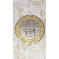Кения 10 шиллингов 1998