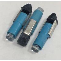Автомобильная светодиодная лампа ((цена за 3 штуки)) СИНЯЯ 24 вольт