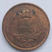 Ливия 2 миллим 1952