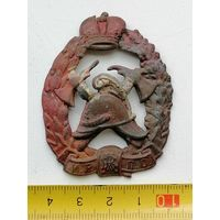 Знак Императорская Россия, Пожарной охраны, оригинал, состояние на фото.