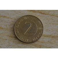 Словения 2 толара 2004