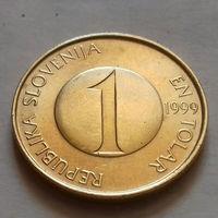 1 толар, Словения 1999 г., UNC
