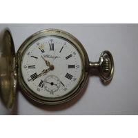Швейцария. Серебряные 84. Часы карманные на ходу. Российская империя.