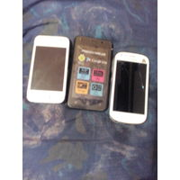 Мобильный телефон Samsung и Prestigio PSP3413DUO на запчасти.Лот из 3 шт