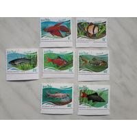 Марки Вьетнам Аквариумные рыбки