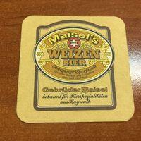 Подставка под пиво Maisel's Weisse No 2