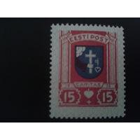 Эстония 1936 герб г. Пярну