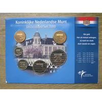 Нидерланды годовой сет монет 2000 в оригинальном блистере - UNC