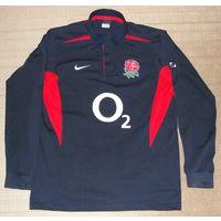 Брендовая высококачественная мужская футболка Nike 100 % хлопок оригинал.50 (L)183см, ворот 40.